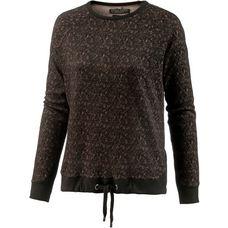 Khujo TIKKA Sweatshirt Damen black-sand-jacquard