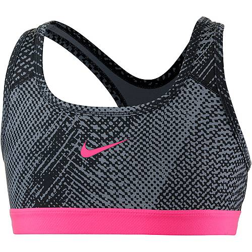 Nike Sport-BH Kinder COOL GREY/COOL GREY/RACER PINK