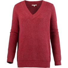 TOM TAILOR V-Pullover Damen smoky rose melange