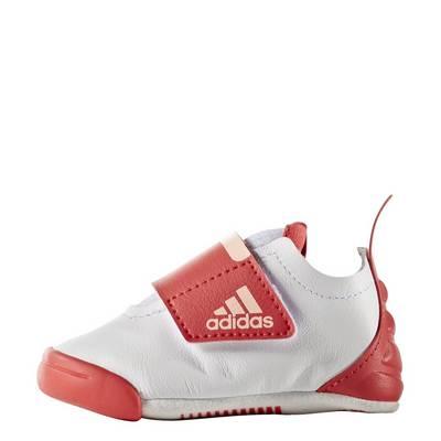adidas Baby Sneaker Kinder Footwear White-Haze Coral-Core Pink