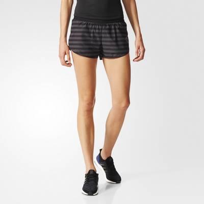 adidas adizero Split Laufshorts Damen Black-Utility Black