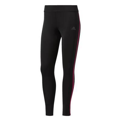 adidas Response Long Lauftights Damen Black-Shock Pink