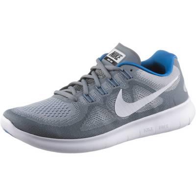 Nike FREE RN 2017 S Laufschuhe Herren cool grey/white-wolf grey