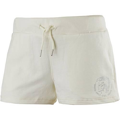 DIESEL Shorts Damen weiß