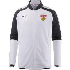 PUMA VfB Stuttgart Trainingsjacke Herren Puma White-Puma Black