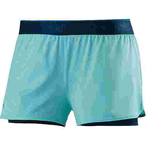under armour heatgear armour shorts damen blue infinity. Black Bedroom Furniture Sets. Home Design Ideas