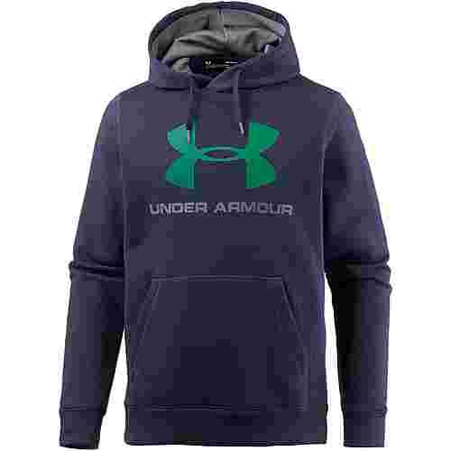 Under Armour ColdGear Rival Funktionssweatshirt Herren MIDNIGHT NAVY / GRAPHITE / GLASS GREEN
