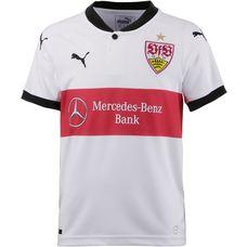 PUMA VfB Stuttgart 17/18 Heim Fußballtrikot Kinder Puma White-Puma Black