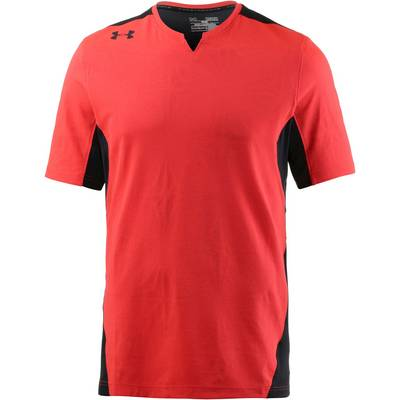 Under Armour Pitch II Funktionsshirt Herren NEON CORAL