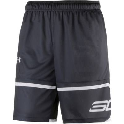 Under Armour Stephen Curry Shorts Herren BLACK/WHITE/WHITE