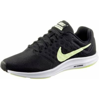 Nike DOWNSHIFTER 7 Laufschuhe Damen black/barely volt-white