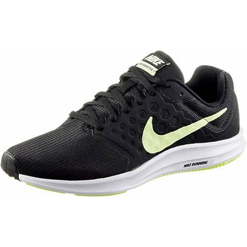 Nike DOWNSHIFTER 7 Laufschuhe Damen black/barely volt-white
