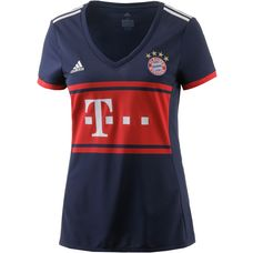 adidas FC Bayern 17/18 Auswärts Fußballtrikot Damen collegiate navy