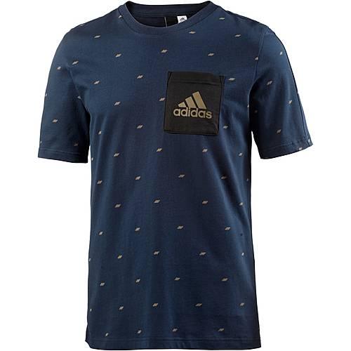 adidas Essential Seasonal T-Shirt Herren collegiate navy
