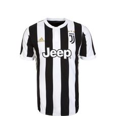 adidas Juventus Turin 17/18 Heim Fußballtrikot Kinder white