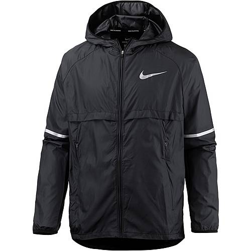Nike Laufjacke Herren black/(reflective silv)