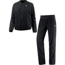 Nike Woven Warm Trainingsanzug Damen BLACK/BLACK/WHITE