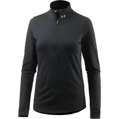 Under Armour Threadborne Streaker Laufshirt Damen black-refelective