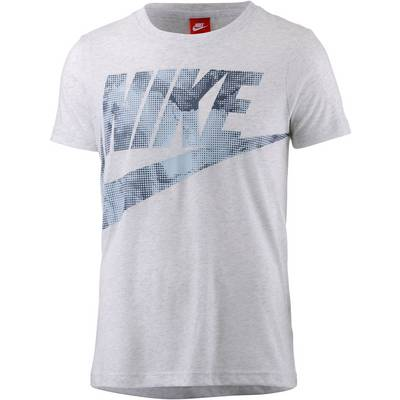 Nike Glacier T-Shirt Damen BIRCH HEATHER/THUNDER BLUE/LT ARMORY BLUE