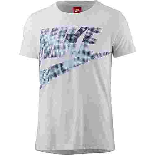 Nike Glacier T-Shirt Damen BIRCH HEATHER/THUNDER BLUE/LT ARMORY BLUE
