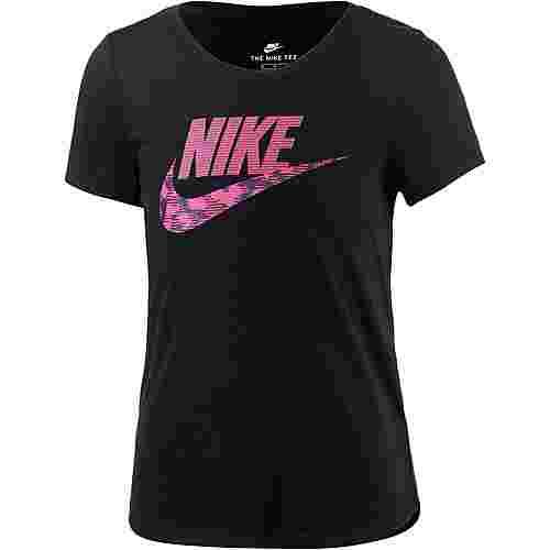 Nike T-Shirt Kinder BLACK/LT FUSION RED