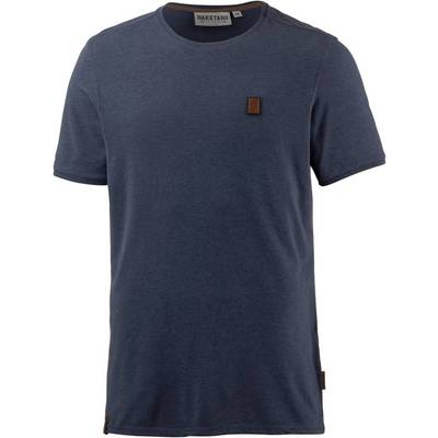 Naketano Dirty Italienischer Hengst T-Shirt Herren Dirty Blue Melange