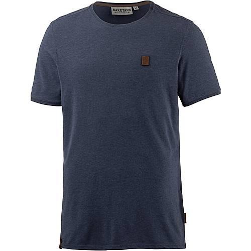 Naketano Dirty Italienischer Hengst T-Shirt Herren Dirty Blue Melange