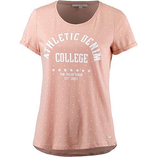 TOM TAILOR T-Shirt Damen evening rose