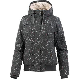 Ragwear Jawa Kapuzenjacke Damen dark grey