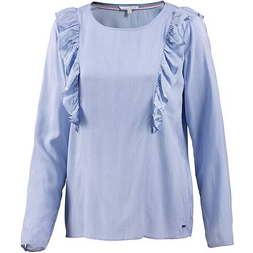 TOM TAILOR Langarmbluse Damen greyish mid blue