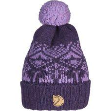 FJÄLLRÄVEN Snow Ball Bommelmütze Alpine Purple