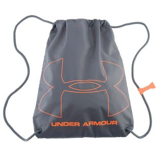 Under Armour Ozsee Turnbeutel Herren STEEL / GRAPHITE / MAGMA ORANGE