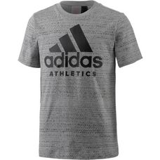 adidas T-Shirt Kinder medium grey heather