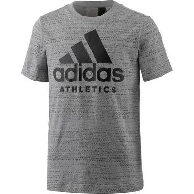 adidas T-Shirt Kinder medium grey heather