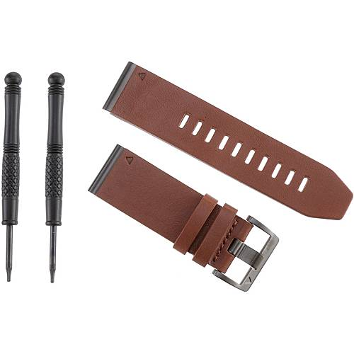 Garmin QuickFit 26 Uhrband Herren braun