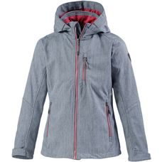 KILLTEC Softshelljacke Kinder blaugrau