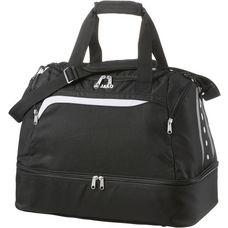 JAKO Performance Sporttasche schwarz-weiß-grau