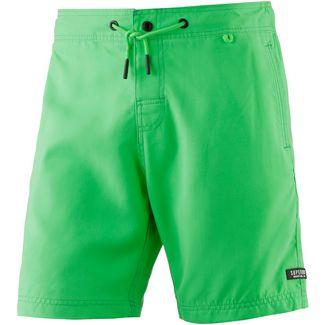 Superdry Surplus Goods Badeshorts Herren worn palm green