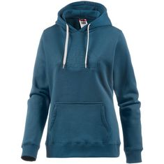 The North Face Drew Peak Sweatshirt Damen PRUSSIAN BLUE DEBOSSED