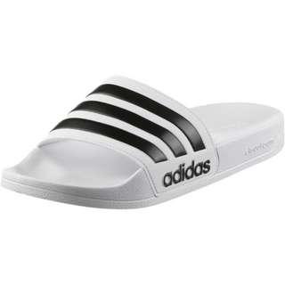 adidas Adilette Shower Badelatschen white black