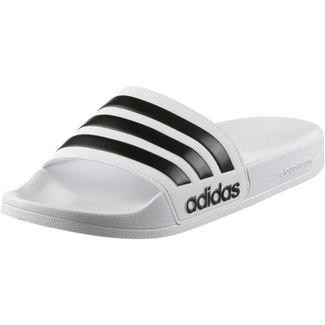 adidas Adilette CF Badelatschen white black