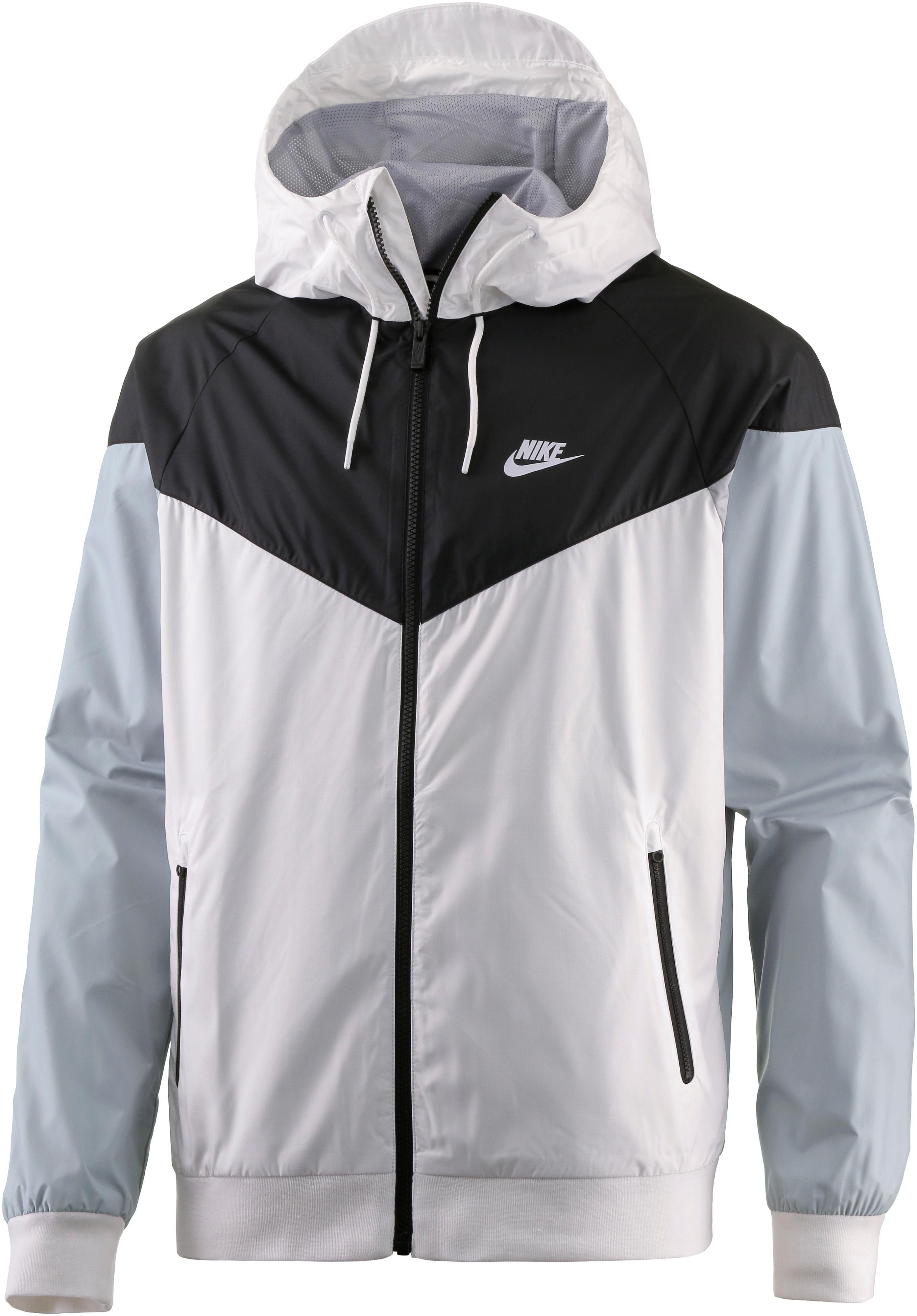 cdceb7495fd3 Nike Windrunner Kapuzenjacke Herren WHITE BLACK WOLF GREY WHITE im Online  Shop von SportScheck kaufen