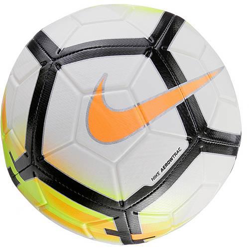 Nike Strike Fußball WHT/LSR ORNG/BLACK/(LSR ORNG)
