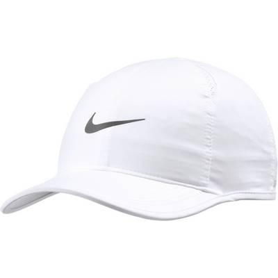 Nike Featherlight Cap Cap WHITE/WHITE/WHITE/MTLC DARK GREY