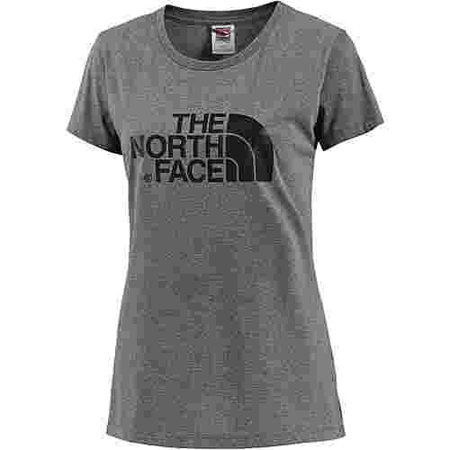 The North Face  S/S Easy Tee T-Shirt Damen TNF Medium Grey Heather