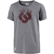 Ragwear Printshirt Herren GREY MELANGE