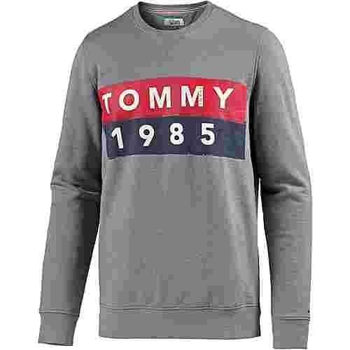 Tommy Jeans Sweatshirt Herren lt grey htr