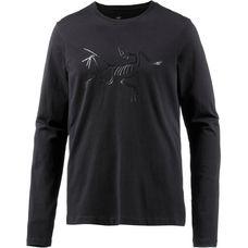 Arcteryx Archaeopteryx LS Langarmshirt Herren black