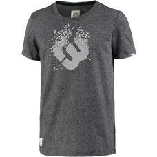 Ragwear Printshirt Herren BLACK MELANGE