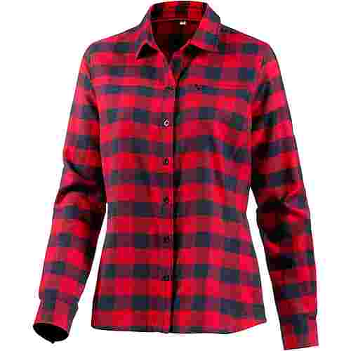 OCK Langarmhemd Damen rot